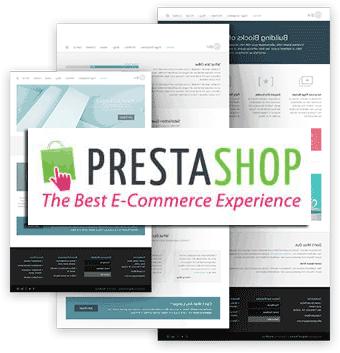 Tienda online montada con Prestashop