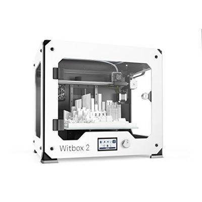 BQ Witbox 2 - Impresora 3D con resolución 20 micras y velocidad 200 mm/s