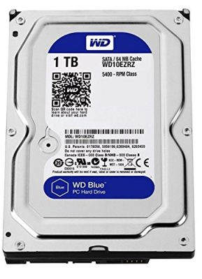 Disco duro WD Blue de 1 TB