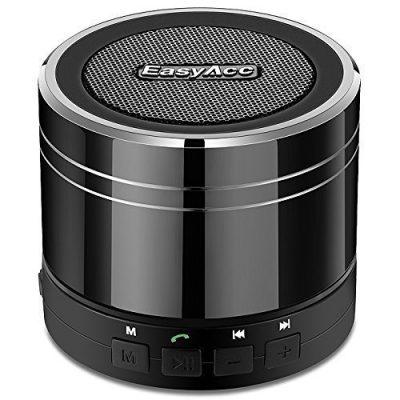 EasyAcc-Altavoz-Bluetooth-40-mini-porttil-recargable-con-micrfono-para-Tablets-Porttiles-Titanio-Negro-0