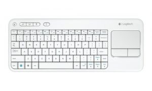 Logitech K400 - Teclado inalámbrico con touchpad (QWERTY español)