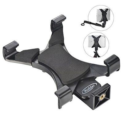 Mudder-Adaptador-de-Montaje-de-Trpode-Tablet-para-iPad-Samsung-Tab-y-Otras-Tabletas-Phablets-o-Telfonos-Inteligentes-Uso-en-Monopod-Selfie-Stick-0