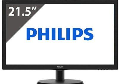 "MONITOR PHILIPS 223V5LSB2/10 21.5"" LED 1920x1080 VGA Black"