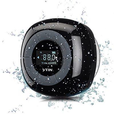 Relaxer-Altavoz-Bluetooth-40-de-VicTsing-impermeable-con-sonido-estreo-y-manos-libres-para-el-iPhone-66s6-plus-5-5s-Samsung-Galaxy-y-todos-los-moviles-con-Bluetooth-Negro-0