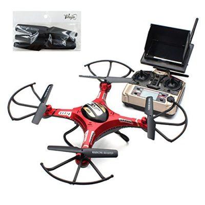 WayIn-JJRC-H8D-RC-Quadcopter-Drone-Helicptero-con-Transmisor-FPV-Monitor-de-Tiempo-real-Transporte-Vdeo-Modo-sin-cabeza-58-g-de-2MP-HD-de-la-cmara-0